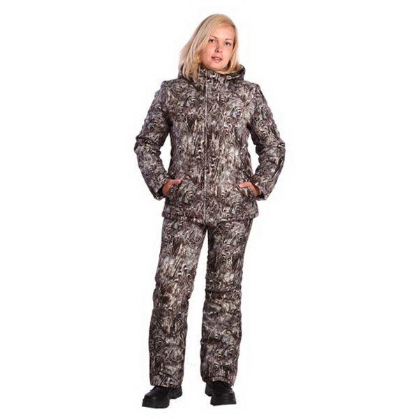 Костюм женский Космо-Текс Зима (ПЗ, Duplex, FL1040WКостюмы/комбинезоны<br>Для активного отдыха зимой компания Космо-Текс выпустила облегченный женский костюм «Зима».<br>