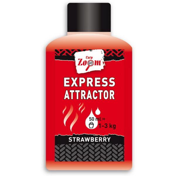 Концентрат Carp Zoom Express Attractor, 50 ml Spicy CZ7545Ароматизаторы / Добавки<br>Простая и эффективная ароматическая жидкость. Применяется для улучшения эффективности разнообразных прикормочных смесей. Одна бутылка подходит для 1-3 килограмма прикормочной смеси.<br>