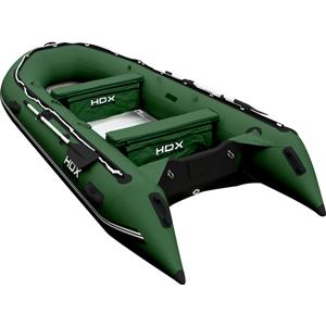 Надувная лодка HDX Oxygen 430 (цвет зеленый)