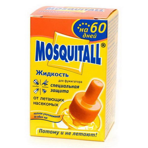 Жидкость Mosquitall 60 дней Специальная защита от летающих насекомых