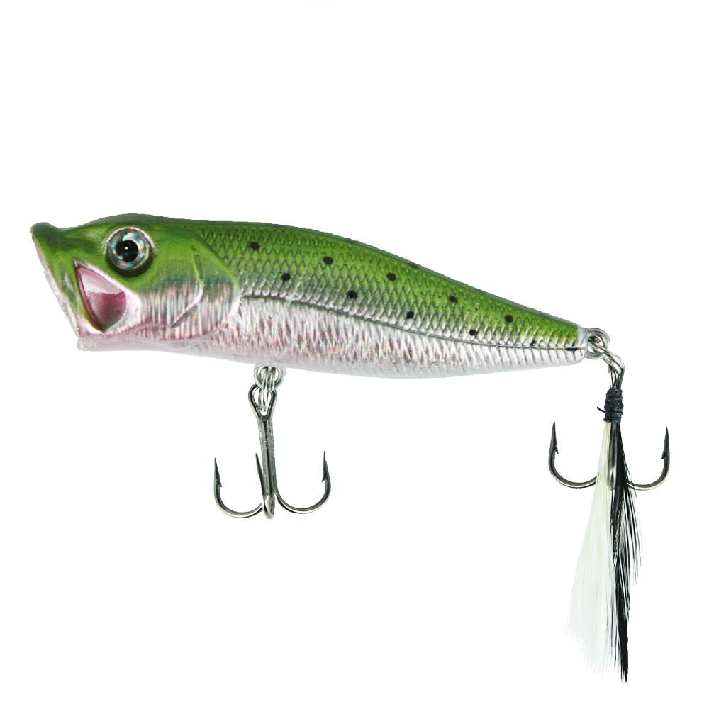 Воблер Trout Pro Bubble Popper 45, цвет HB12  (38276)Воблеры<br>BUBBLE POPPER – на сегодняшний день один из самых лучших попперов на рыболовном рынке.<br>