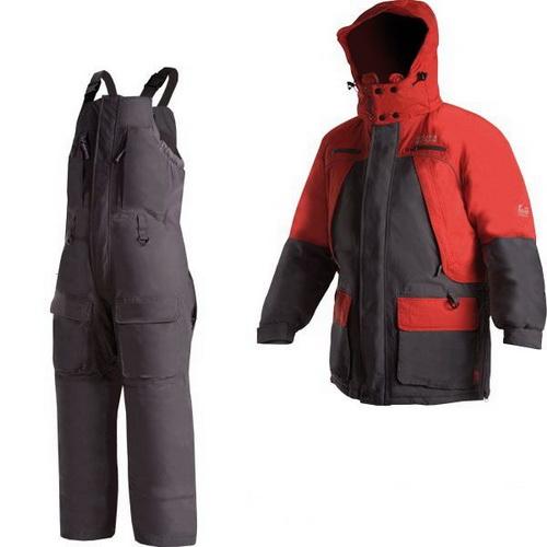 Костюм NovaTour Фишермен v.2 M Серый/красный (68498)Костюмы/комбинезоны<br>Костюм, специально скроенный для зимней рыбалки, отлично сохраняет тепло и не пропускает влагу.<br>