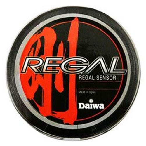 Леска плетеная Daiwa Regal Sensor 2-150  (19047)Плетеные шнуры<br>Плетеный шнур с большим запасом прочности, и максимально круглым сечением.<br>