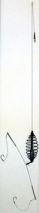 Оснастка Deep River Лиман 2 (кормушка спираль 25гр, крючок №8, тест 3кг) (65277)Оснастка<br>Оснастка Deep River Лиман - это необходимый атрибут любой рыбалки, позволяющий аккуратно прикармливать рыбу на разном расстоянии от берега. Кормушка является не только контейнером для доставки прикормки, но и выполняет функцию грузила. Она должна удержива...<br>