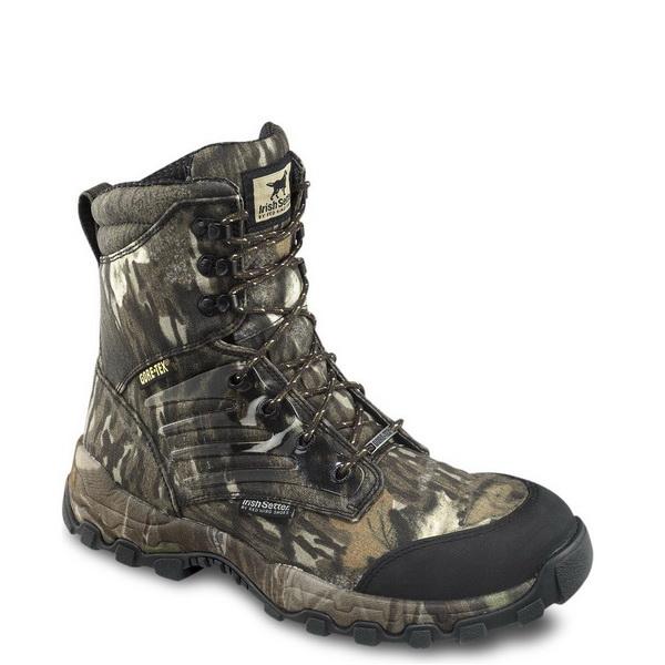 Ботинки Irish Setter Shadow Trek мужские, р-р 45, цвет комуфляж (41916)Ботинки<br>Представленные сверхлегкие и эластичные ботинки с ортопедической колодкой компенсируют нагрузки и позволяют ногам меньше уставать.<br>