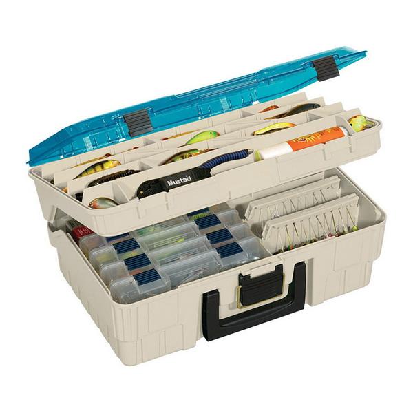 Ящик Plano 1350-10Ящики<br>Ящик для рыболовных принадлежностей, выполнен из ударопрочного пластика, с надежными запорами.<br>