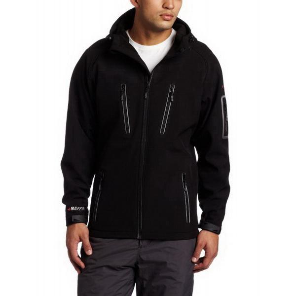 Куртка Baffin с капюшоном Mens Hooded Jacket Black XXL (44183)Куртки<br>Особенностью этой модели куртки является использование фирменного стрейч-флиса, который приятный на ощупь, обладает влаговыводящими и влагоотталкивающими свойствами.<br>