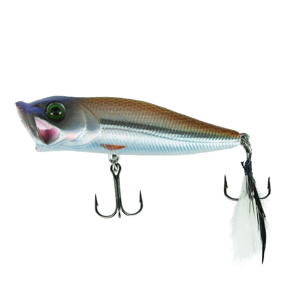 Воблер Trout Pro Bubble Popper 45, цвет HA10    (38271)Воблеры<br>BUBBLE POPPER – на сегодняшний день один из самых лучших попперов на рыболовном рынке.<br>