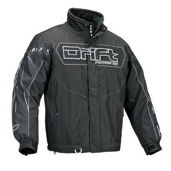 Куртка Drift Road Hog D-Tex Black M XL (5225-186)Одежда<br>Куртка подходит для активного отдыха или рыбалки. Внешний слой – нейлоновое покрытие, которое оказывает хорошую сопротивляемость воде и загрязнениям.<br>