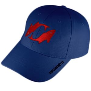 Бейсболка Tsuribito, цвет синий