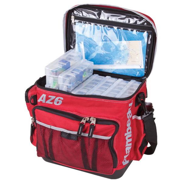 Ящик-сумка Flambeau AZ6 Tackle System (6107TB) Large AZ6Ящики<br>Мягкая текстильная сумка с ящиком для рыболовных приманок и принадлежностей Flambeau AZ4<br>