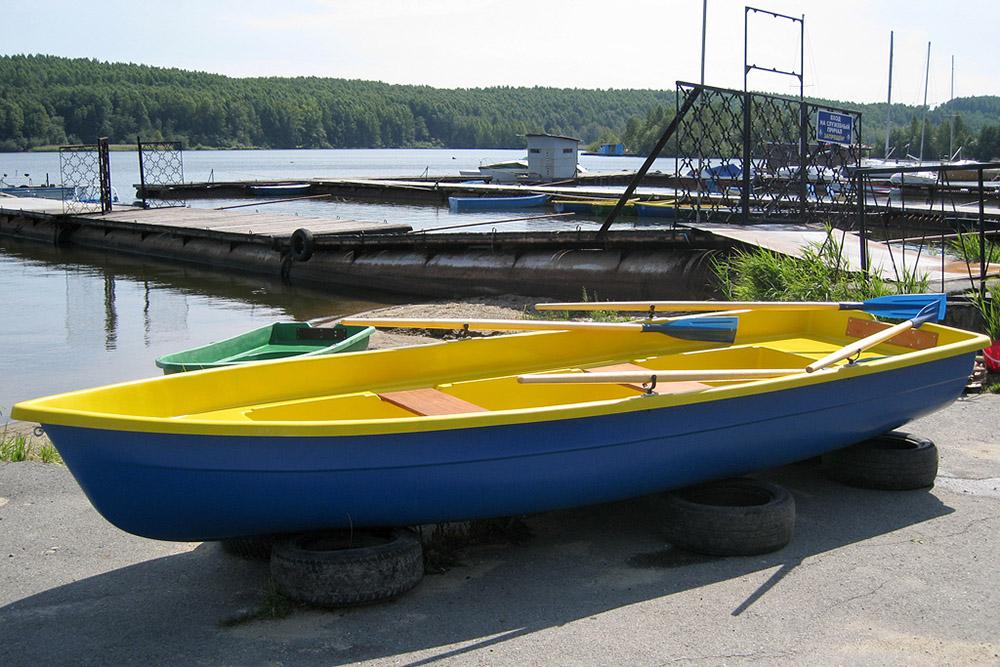 размеры пластиковых лодок