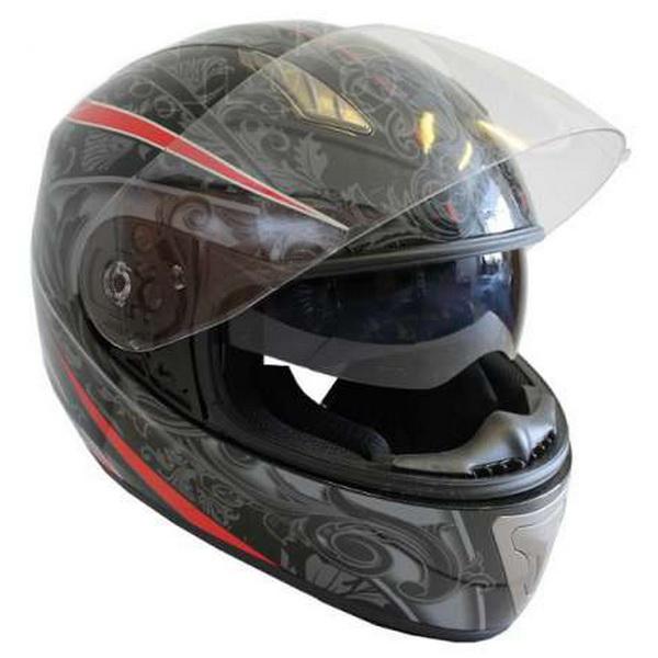 Шлем UMC H520-2Шлемы и маски<br>Мотошлем UMC H520-2 со съемным вкладышем и интегрированными очками.<br>