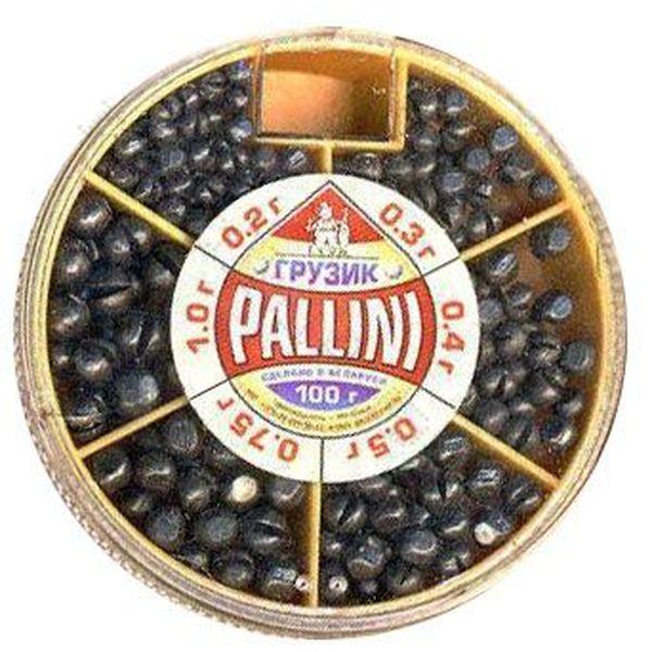 Набор грузил Cukk Pallini 100г (91285)Грузила, отцепы<br>Грузила – это такие снасти, которые незаменимы на любой рыбалке. Они должны быть в арсенале каждого рыбака.<br>