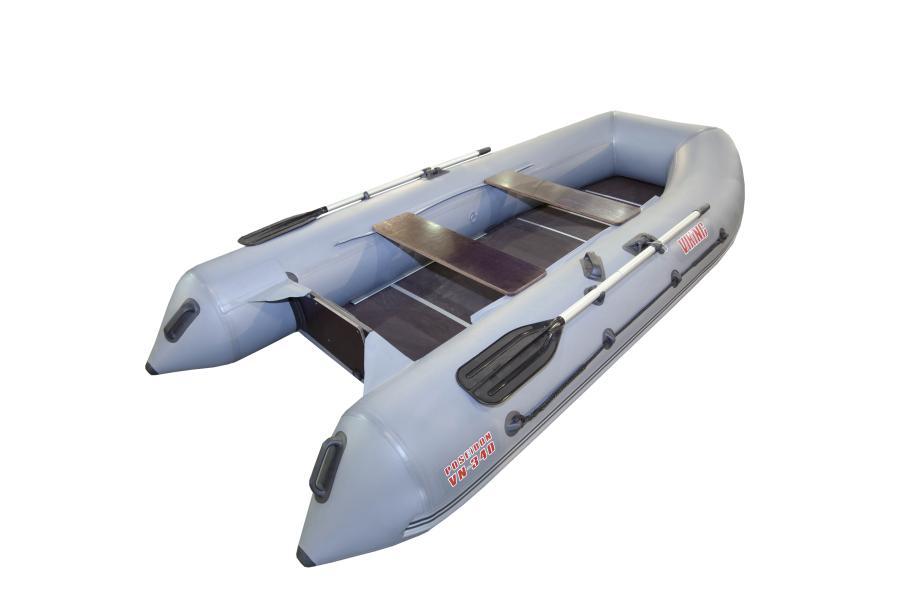 Надувная лодка ПВХ Посейдон VN Викинг 320 LSЛодки ПВХ под мотор<br>Новые лодки LS отличаются от предыдущей серии LE упрощенной сборкой за счет использования H-образного профиля, закрепленного на каждой части сборного пайола.<br>Средние моторно-гребные лодки класса LIGHT демонстрируют в первую очередь универсальный подход...<br>