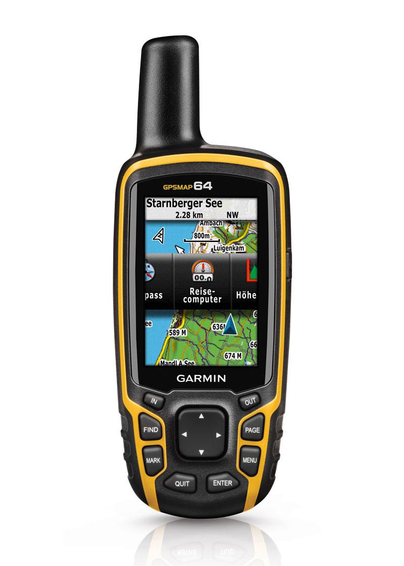 Портативный навигатор Garmin GPSMAP 64 Rus 010-01199-01Туристические GPS навигаторы<br>Универсальный портативный навигатор Garmin GPSMAP 64 Rus один из самых надежных неприхотливых и мощных туристических навигаторов. Управление кнопками, большой цветной дисплей, питание от батареек типа АА, а также прочный корпус делают данный навигатор наи...<br>