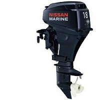 Лодочный мотор 4-х тактный NISSAN MARINE NSF 18 B2 EP1Подвесные моторы<br>Отлично зарекомендовавший себя карбюраторный четырехтактный двухцилиндровый мотор мощностью 18 л.с.<br>