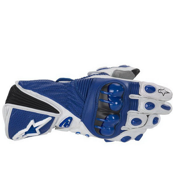 Перчатки UMC ZAM-009, размер L, сине-бело-черные