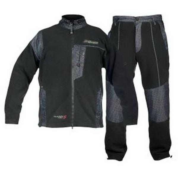 Костюм Graff рыболовный  из полара (черный) 219-XXLКостюмы/комбинезоны<br>Удобный и практичный костюм из полара от компании Graff.<br>