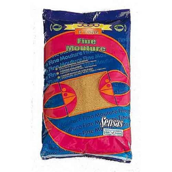 Прикормка Sensas 3000 Etang Fine Mouture 1кгПрикормки<br>Высококачественная смесь, ориентированная на быстрое привлечение рыбы в зону ловли. В ее состав входят семена крупного помола.<br>