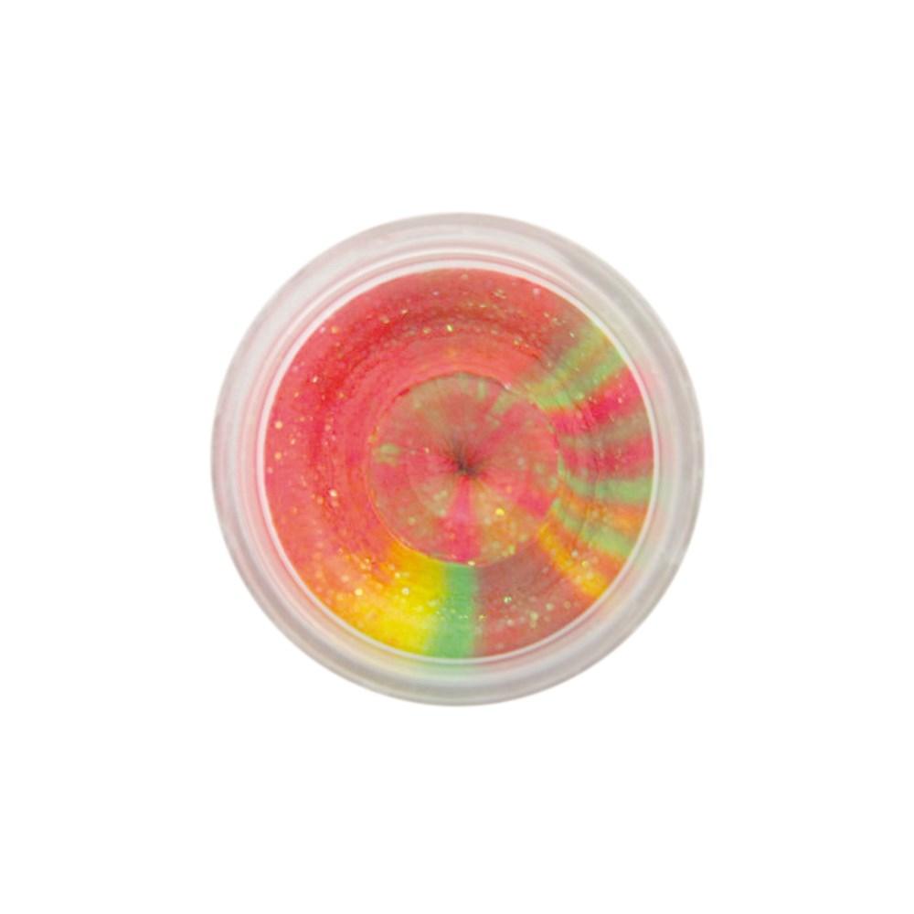 Форелевая паста Berkley Double Glitter Twist 50г, цв. розовый/желтый/зеленый (61865)Насадки<br>Мягкая паста для ловли форели заслуживает особый интерес, входящий в состав блеск привлекает внимание рыбы, прекрасно играет на солнечном свете. Вам останется только выбрать с каким вкусом и ароматом будет приманка.<br>