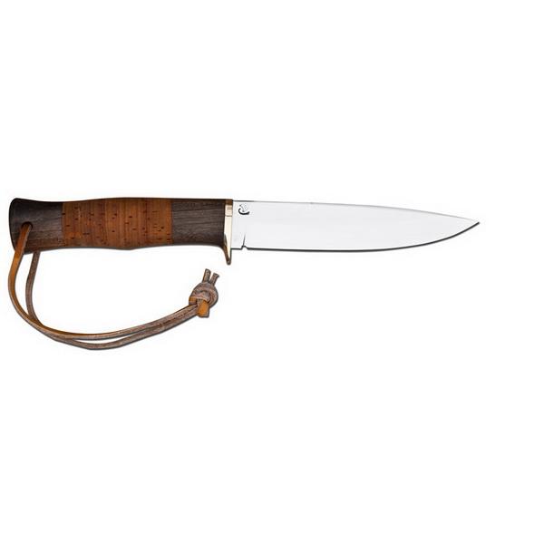 Нож Выпь сталь Х12МФ (береста)Ножи разные<br>Нож идеально подходит для любителей отдыхать на природе. Рассчитан на среднюю руку.<br>