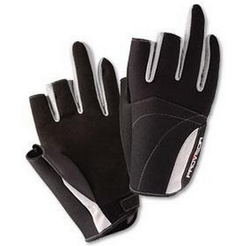 Перчатки DAIWA PG-7012W RED MВарежки/Перчатки<br>Эластичные перчатки для рыбной ловли, с обрезанными тремя пальцами.<br>