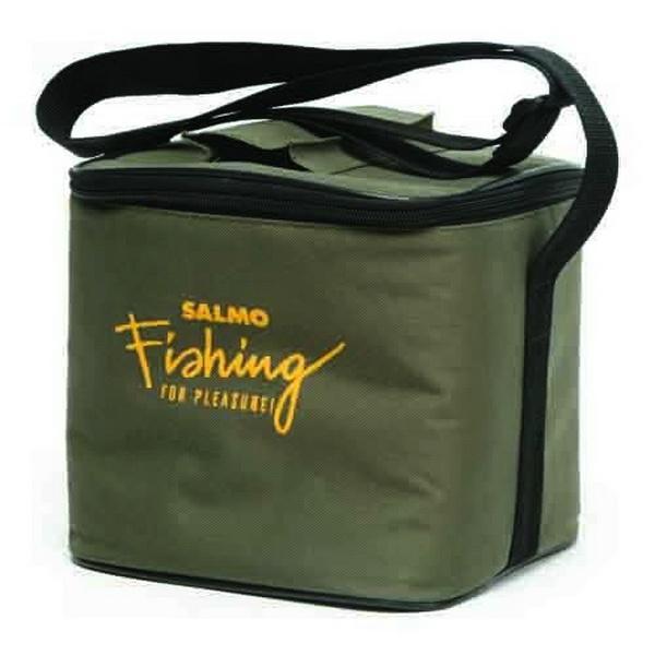 Сумка Salmo для жерлиц H-8014Сумки и рюкзаки<br>Сумка предназначена для хранения и транспортировки жерлиц. Изготовлена из нейлонового материала. Сумка влагонепроницаемая. По бокам есть карманы для хранения в них флажков. Сумка застегивается на влагонепроницаемый замок. Отлично подойдет для любителей ло...<br>