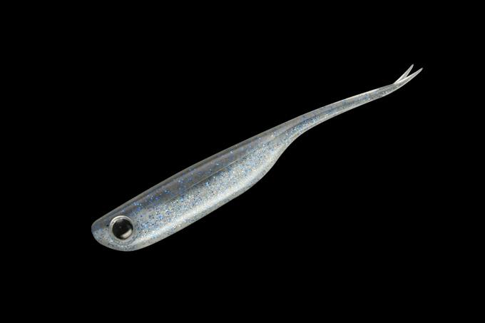 Мягкая приманка Jackall Jazzy Fish 3 SMOKEBLUESHAD (87563)Мягкие приманки<br><br>