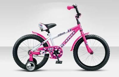 Велосипед Stels Pilot-160 16.15Велосипеды Stels<br>Детский велосипед Stels Pilot 120 16 2015 года уже успел завоевать сердца маленьких поклонников велодвижения. Малышам нравится в нем решительно все, включая необычный дизайн, удобную корзинку для игрушек, съемные колесики, благодаря которым катание стано...<br>