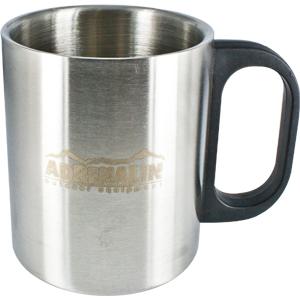 Термокружка Adrenalin с пластиковой ручкой Metal Cup 285PТермокружки<br>285 мл<br>