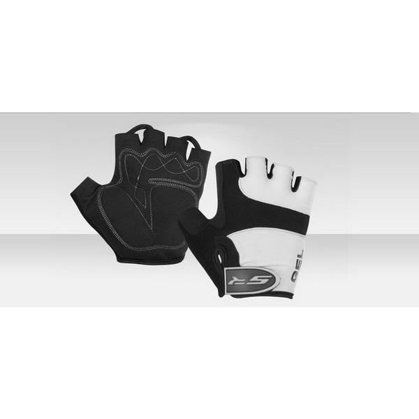 Велоперчатки Stels CG-1077 чёрно-серые размер XL 380118Варежки/Перчатки<br>Защитные летние перчатки для велоспорта. Можно применять не только для езды на велосипеде, но и для занятия в спортзале со спортинвентарем или на турнике.<br>
