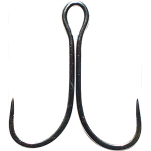 Двойные крючки для блесен Tachiuo Hook № 1/0Двойники<br>Японские двойники для крупных блесен. В упаковке 4 шт.<br>