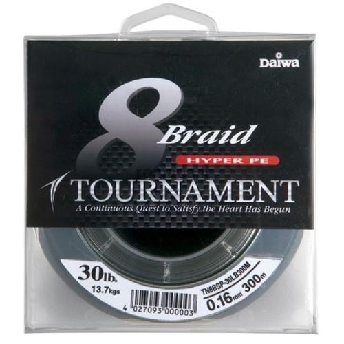 Леска плетеная Daiwa Tournament 8 Braid Premium TN8BHV-30LB135M (57827)Плетеные шнуры<br>Шнур гладкий, очень прочный, тонкий и плотный в плетении, хорошо режет воду и держит струю, один из лучших вариантов для использования в спиннинговой и фидерной ловле.<br>
