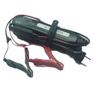 Зарядное устройство DEKA для аккумуляторов DekaPower 70 (7А)Аккумуляторы и зарядные устройства<br>Специальная тяговая аккумуляторная батарея глубокого разряда (deep cycle power). Аккумуляторы глубокого разряда применяются для получения длительного, медленного разряда небольшой мощности в течение нескольких минут или часов, в случаях, когда требуется г...<br>
