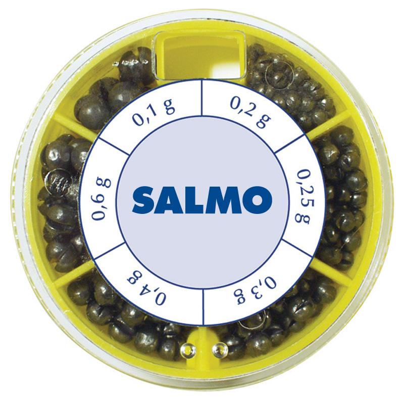 Грузила Salmo Дробинка 6 секций крупные 50 гр.