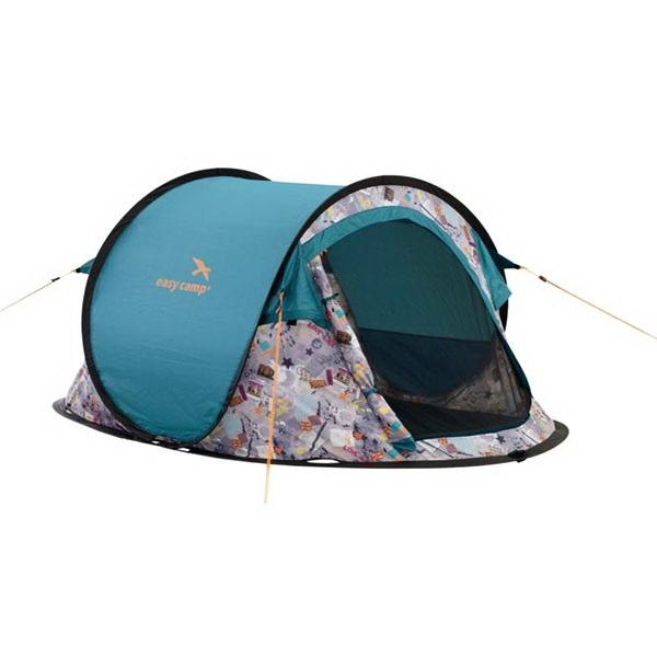 Палатка Easy Camp автомат Antic Punk 2-х местнаяПалатки<br>Небольшая двухместная палатка. Достоинством является наличие автоматического режима, благодаря которому можно в несколько раз сократить время на установку палатки.<br>