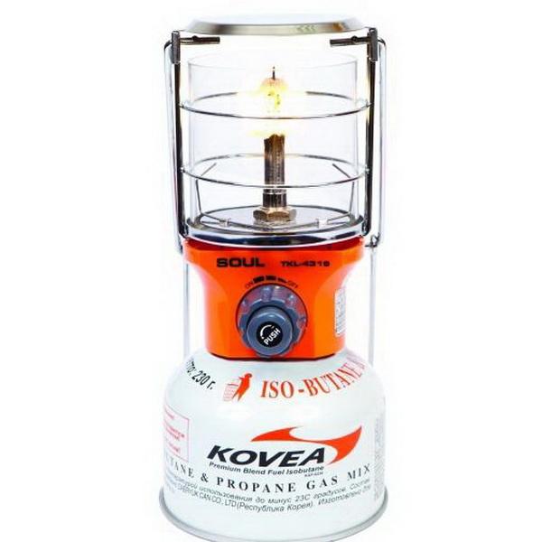 Лампа Kovea газовая TKL-4319Лампы кемпинговые<br>Газовая лампа, имеющая яркое освещение и высокую мощность. Лампа отлично подходит для применения в экстремальных условиях.<br>