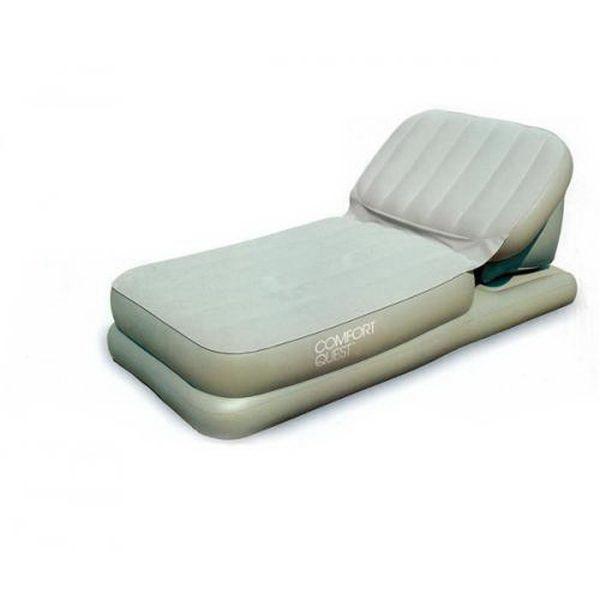 Кровать Bestway серая 104х211х81см