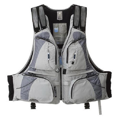 Жилет Daiwa Плавающий XVX XF - 3012 Gray LL (21501)Спасательные жилеты <br>Спасательный жилет с отстегивающейся подкладкой, и карманами для мелочей.<br>