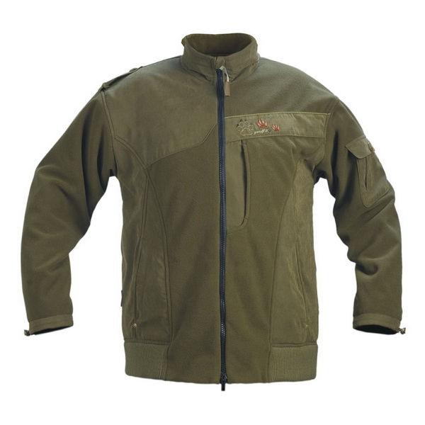 Куртка Graff из полара (влаго и ветронепроницаемая), комбинированная Polaron-X-400 и мембрана Bratex 568-WS-S (67586)