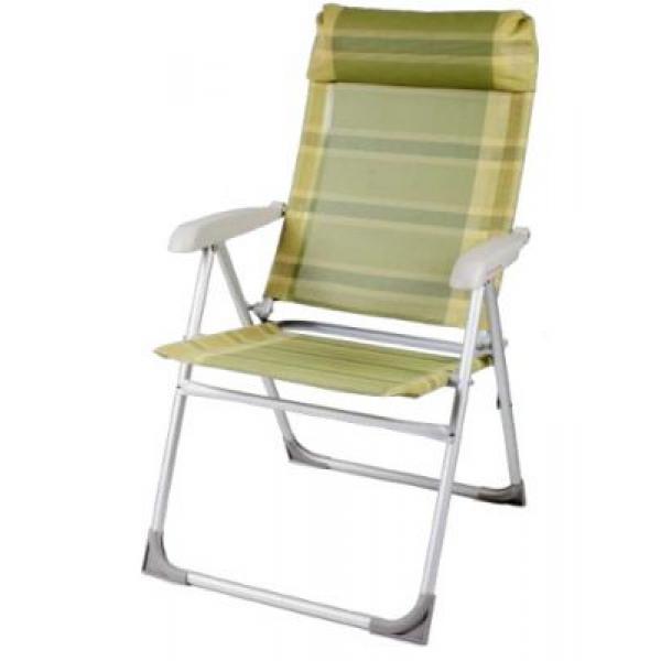 Кресло складное TREK PLANET 6-ти позиционное Green FC-201Стулья, кресла складные<br>Складное кресло TREK PLANET 6-ти позиционное предназначено для использования на даче и дома. В полностью разложенном состоянии кресла Ваше положение - горизонтально полусидя. Кресло фиксируется в любом положениии с помощью фиксаторов под подолокотниками. ...<br>