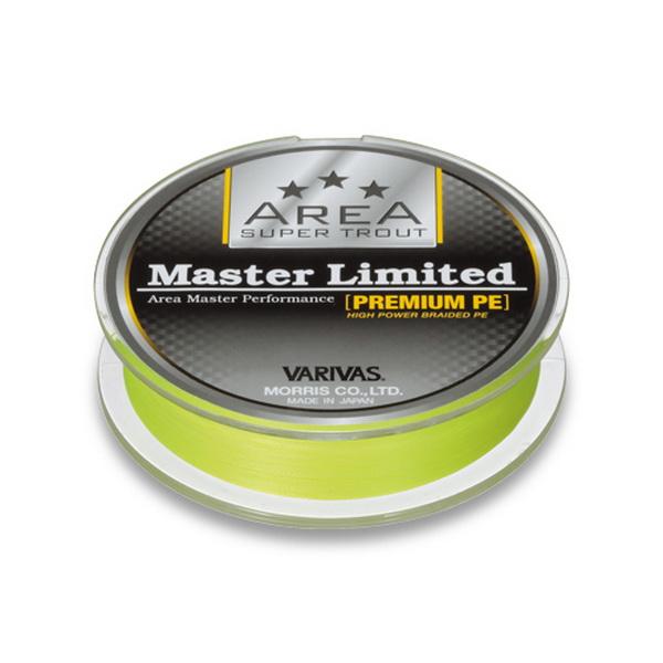 Леска плетеная Varivas Master Limited Premium PE, желтая 75м #0.2 (70530)Плетеные шнуры<br>Шнур предназначен преимущественно для ловли форели, обладаtn небольшим поперечным диаметром, но эта тонкость не ведет к уменьшению предельной нагрузки.<br>