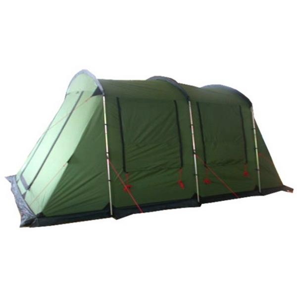 Палатка Alexika 2 спальня+ 2 тамбура 8 мест.Cruiser 8 green, 500x300x210 cmПалатки<br>Специально для большой компании, которая обожает проводить активно время на природе (рыбачить, охотиться и просто отдыхать) Alexika выпустила палатку Cruiser, рассчитанную на 8 мест. Палатка представляет собой минидом из двух комнат и двух тамбуров с отде...<br>