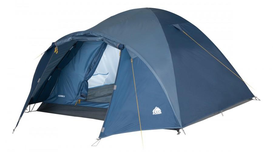 Палатка TREK PLANET Palermo 2Палатки<br>Двухместная двухслойная трекинговая палатка Palermo 2 и имеет вместительный тамбур для вещей. Хорошо вентилируется, имеет прочный пол, защитит от ветра и дождя. Идеально подойдет для отдыха на природе, походов, кемпинга. Легко и просто устанавливается.<br>