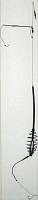 Купить Оснастка Deep River донная Форвард (кормушка спираль с противозакручивателем 35 гр, крючок №4, тест 7кг) (65256) в России