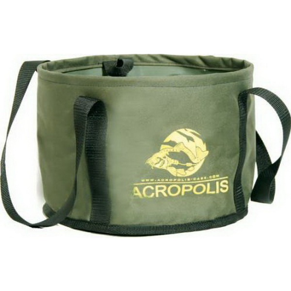 Ведро ACROPOLIS BP-1а для приготовления прикормки ( д.30 )Емкости для замешивания<br>Ведро предназначено для замешивания корма на рыбалке. Изготовлено из плотного ПВХ материала<br>