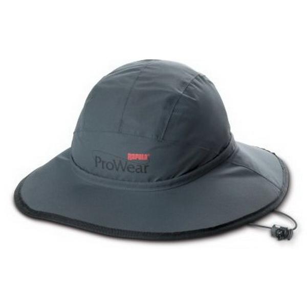 Шляпа Rapala ProWear All Weather Hat сер-черн. 24509-1Кепки/панамы/бейсболки<br>Шляпа идеально пойдет для защиты головы от погодных условий в весеннее и летнее время года. Изготовлена из водонепроницаемого материала с хорошими дышащими свойствами.<br>