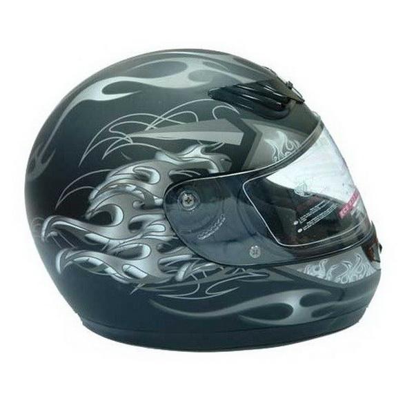 Шлем UMC H510-1, размер XL, блестящий красный с фиксированной вкладкой (44989)Шлемы и маски<br>Мотошлем UMC – прекрасный выбор любителя скоростей. Эта модель интегрального типа обеспечивает прекрасную надёжность и безопасность.<br>