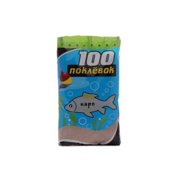 Прикормка 100 Поклевок Рыболов Карп 900 гр.